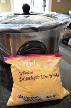 Three-Ingredient Crock Pot Ranch Porkchops | 24 Dump Dinners You Can Make In A Crock Pot