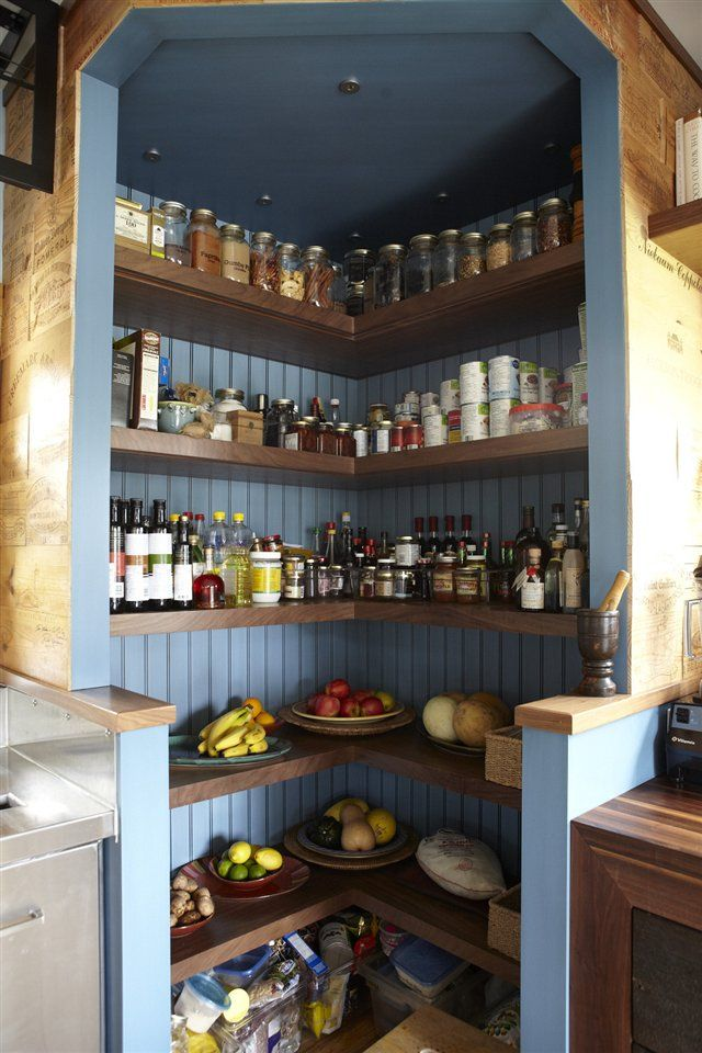 Chef Michael Smith's open pantry