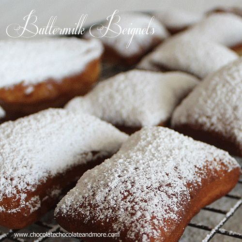 Buttermilk Beignets - French Donuts - Chocolate Chocolate and More!