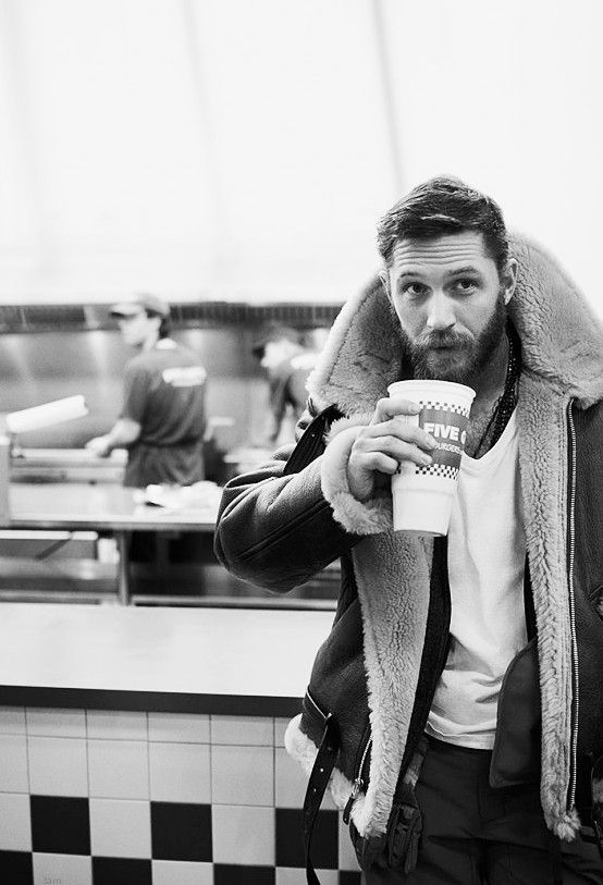 Thriving Twenties — 3intheam: tom hardy. original photography by greg...