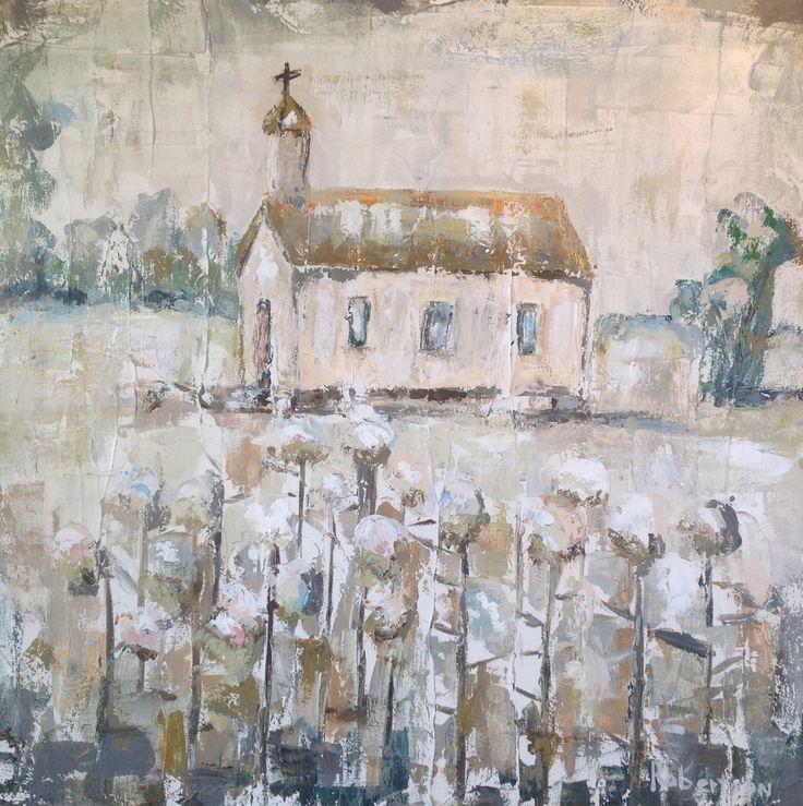 Country Church and Cotton.  Sarah Robertson