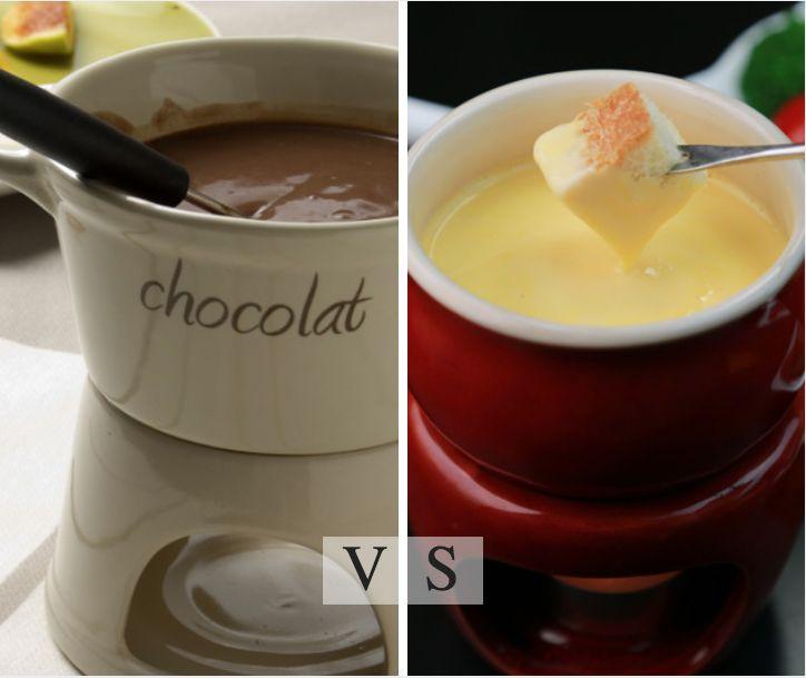 Fondue or not Fondue? Mε λαχταριστό τυρί ή με λιωμένη σοκολάτα, είναι απλά απολαυστικό! Ποιο θα προτιμήσετε;