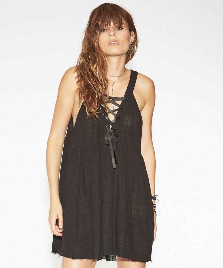 oneteaspoon - Tahitian Pearl Dress Black