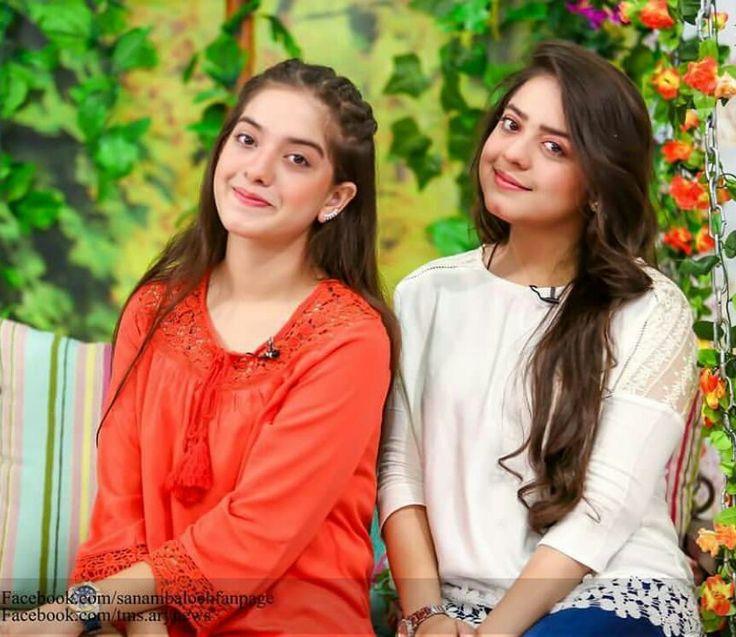 Arisha Razi and Sister Sarah Razi #Beautiful #Lovely #Cutest #PrettyGirls #LoveSisters #YoungPakistaniActress #PakistaniActresses ✨