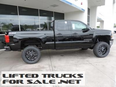 new lifted 2014 chevrolet silverado 1500 lt double cab lifted chevy trucks for sale. Black Bedroom Furniture Sets. Home Design Ideas