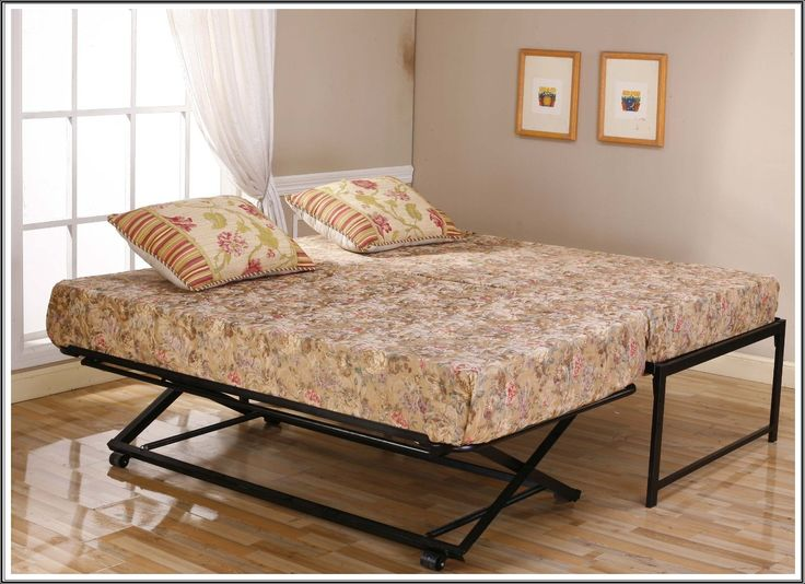 PERFECT!! SO much simpler than building a Murphy Bed! Daybed With Pop Up Trundles