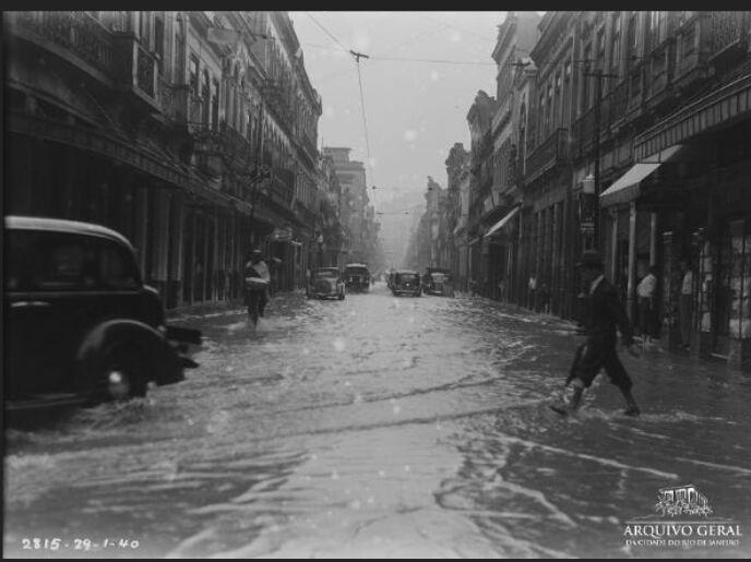 Lapa, Rua do Lavradio, 1940