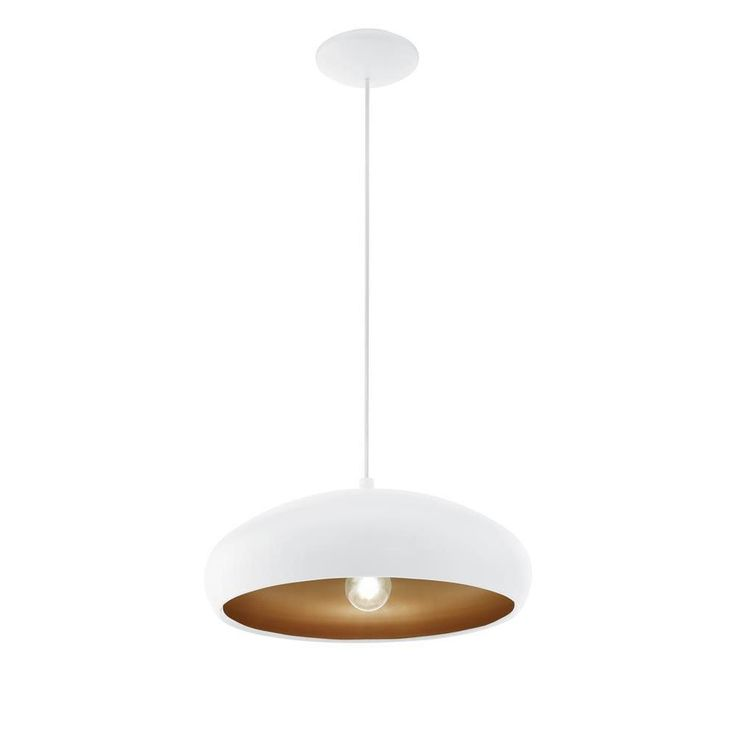 Eglo 94606 Mogano 1 White & Copper 1 Lamp Pendant Light. The Eglo 94606 is part of the Pendant Lighting range. Buy Eglo Indoor 94606.