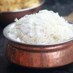 Popular, Healthy breakfast from South India. (It's a rice noodle, made from scratch. Looks really interesting to make)