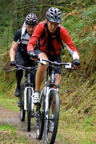 Mountain Biking can be great fun for all the Family. You can join The North Cornwall Trail, part of The Cornish Way, just outside the door of your luxury Cornwall cottage in Trelash