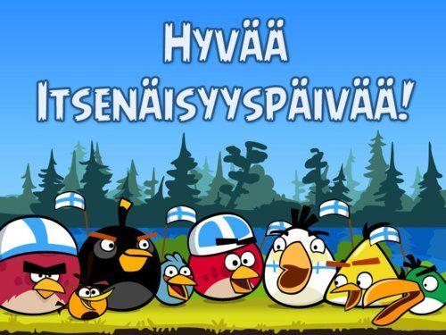 Hyvää itsenäisyyspäivää, Suomi!