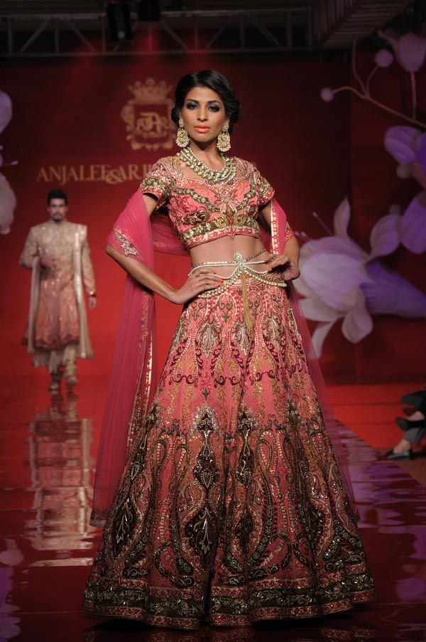 Browse Through Anjalee Arjun Kapoor Indian Wedding Dresses And Lehenga Collection At MyShaadi Find The Perfect Dress By