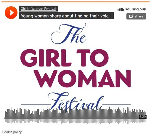 Young women share about finding their voice and why everyone should come of the G2W Festival. Arielle, Jaya, Ocean and G2W's Sarah Davis speak to Rachael Torise about the Girl To Woman Festival on Chop Suey Roaming Radio.
