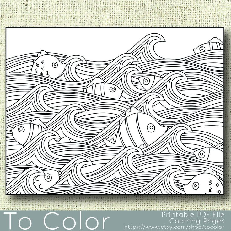 422 best Seas of life coloring pages images on Pinterest