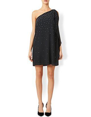 Nieve One-Shoulder Dress