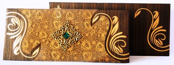 Contoh Desain Undangan Pernikahan Islami - Amplop Aksesoris