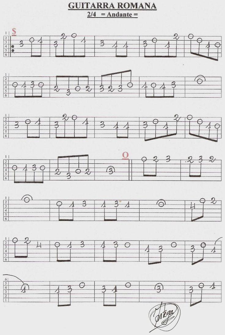 Guitarra Romana 1/2