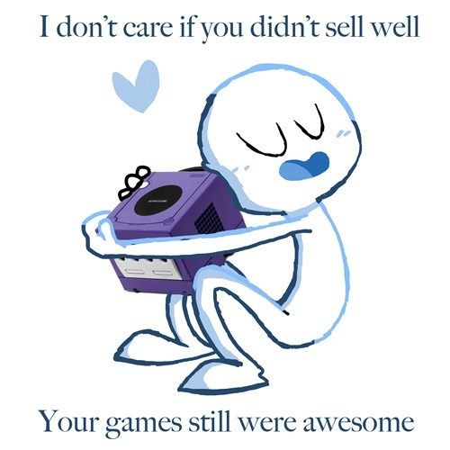 I own a lot of systems... and my Gamecube is in my top 3 favorites.