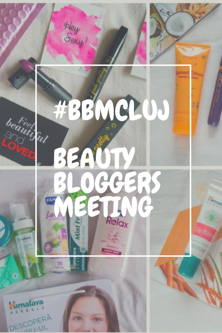 Beauty Bloggers Meeting Cluj: #BBMCluj 2016 (5th Edition)