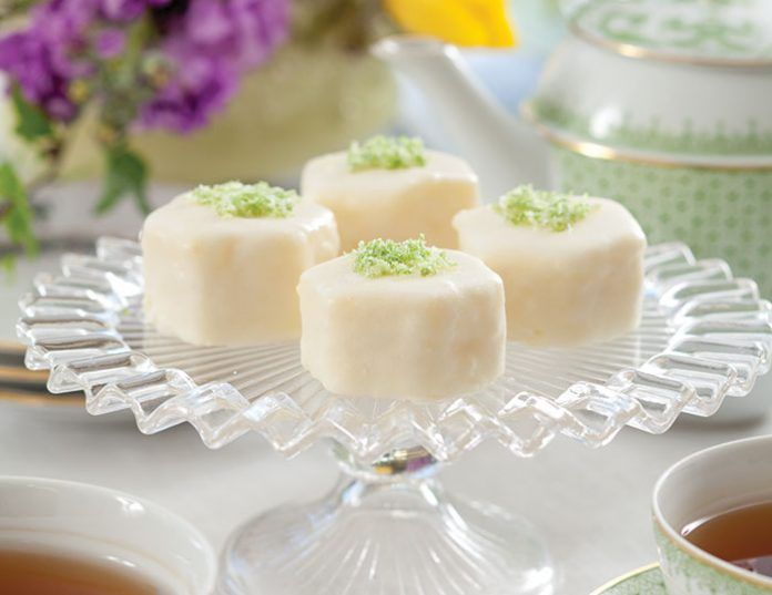 Lime Petits Fours