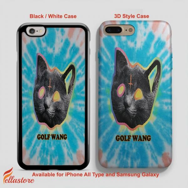 awesome Ofwgkta Odd Future Tron Cat Tie iPhone 7-7 Plus Case, iPhone 6-6S Plus, iPhone 5 5S SE, Samsung Galaxy S8 S7 S6 Cases and Other