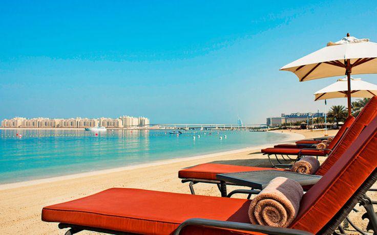 Der er mange skønne og smukke strande i Dubai. www.apollorejser.dk/rejser/asien/de-forenede-arabiske-emirater/dubai