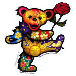 Grateful Dead dancing bear