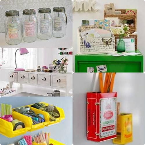 Ideas para organizar mi taller de manualidades buscar - Ideas para escritorios ...