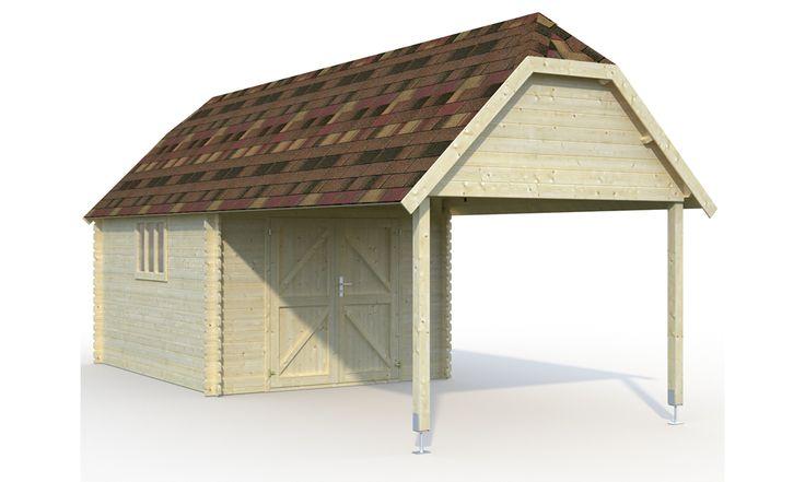 Blokhut Cottage 295x760cm - MakroShop.be