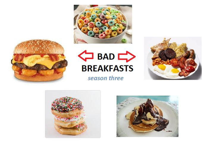 Bad Breakfasts: The surprise hit sitcom Bad Breakfasts with a large bachelor cult following was suddenly cut short in season three due to unexpected self realizations. The hoped for sequel These Lunches is still under consideration: https://media.giphy.com/media/qCujdhwWQIpLq/giphy.gif