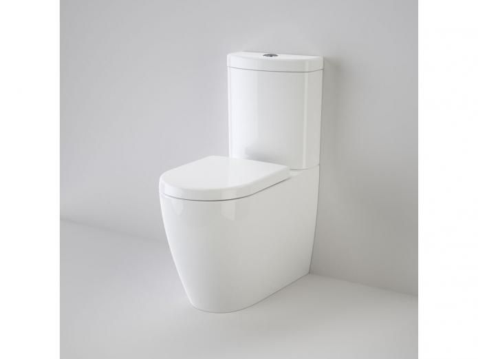Caroma Forma is the ultimate combination of disciplined engineering and uncompromising flushing performance. The Forma Close Coupled Back to Wall Toilet Suite with soft close seat and Cleanflush technology exudes an understated elegance with gentle curves and a classic enduring design while offering a more hygienic clean.