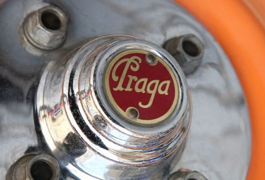 Praga car factory hub emblem #Czechia #cars #carsbadge