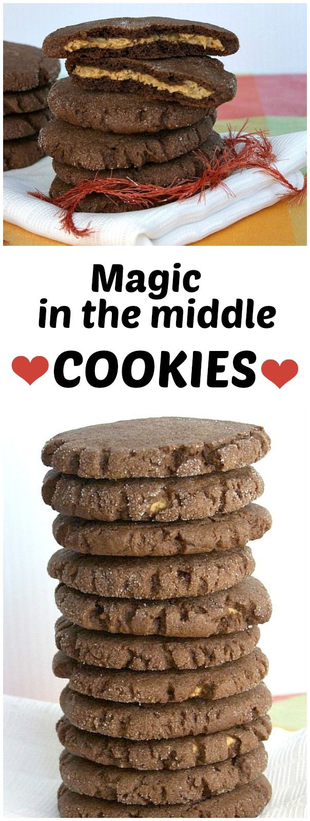 Magic in the Middle Cookies recipe : from RecipeGirl