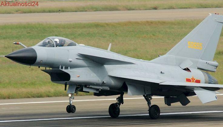 """Samoloty wojskowe Chin w pobliżu Tajwanu. """"Właściwa odpowiedź"""""""