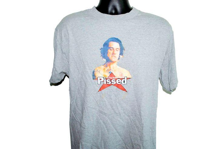 90s PISSED Cape Fear Vintage Serial Killer Streetwear Brand Cult Classic Robert Deniro Horror Movie T-Shirt