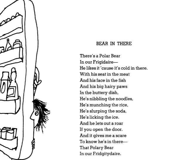 Do a dramatic reading of Shel Silverstein's poems, just for you. | 31 Tiny Pick-Me-Ups For When You Just Can't Deal Anymore