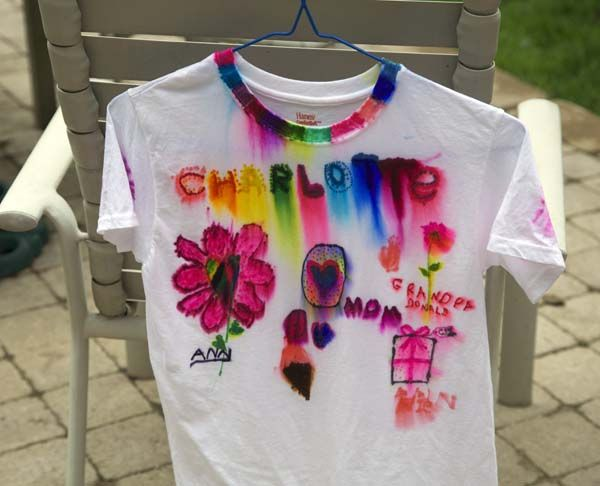 Sharpie T-shirt Craft