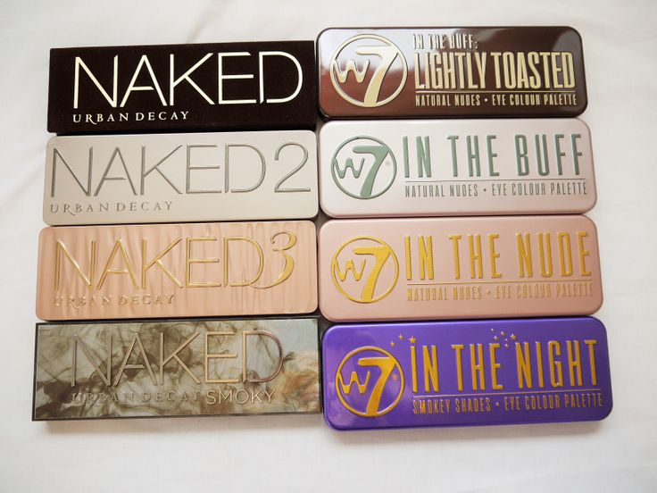 Urban Decay Naked Dupes=W7
