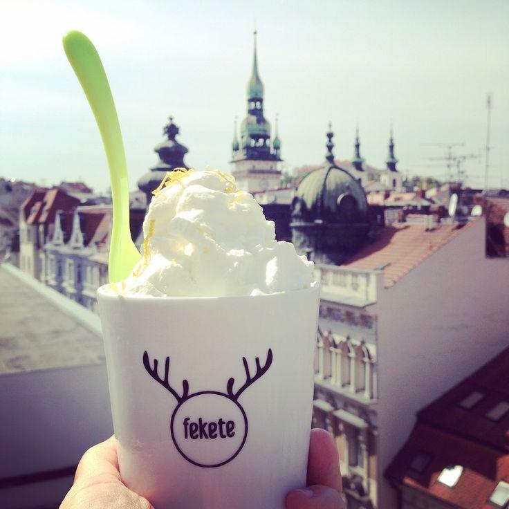 Laskominy od Maryny: Citronová zmrzlina z řeckého jogurtu
