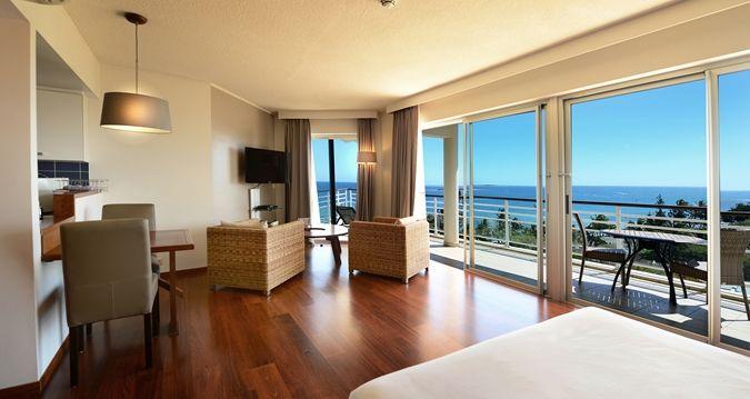 Hilton Noumea La Promenade Residences - deluxe king studio