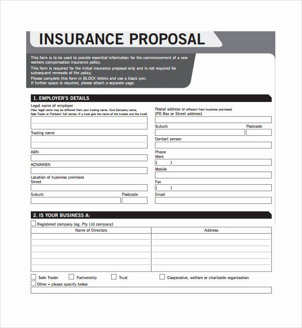 20 Car Insurance Certificate Template In 2020 Free Proposal