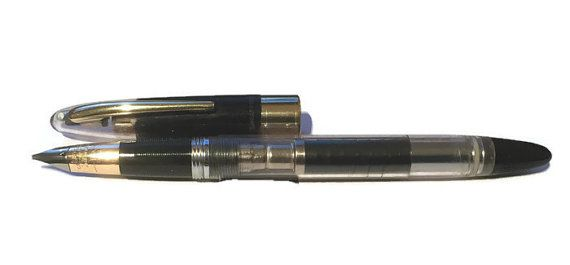 Check out Sheaffer snorkel Demonstrator Valiant on inspiringpens