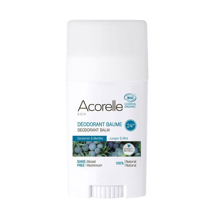 Déodorants baumes bio, Acorelle