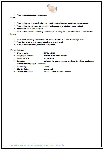 reference page for resume layout executive assistant medical