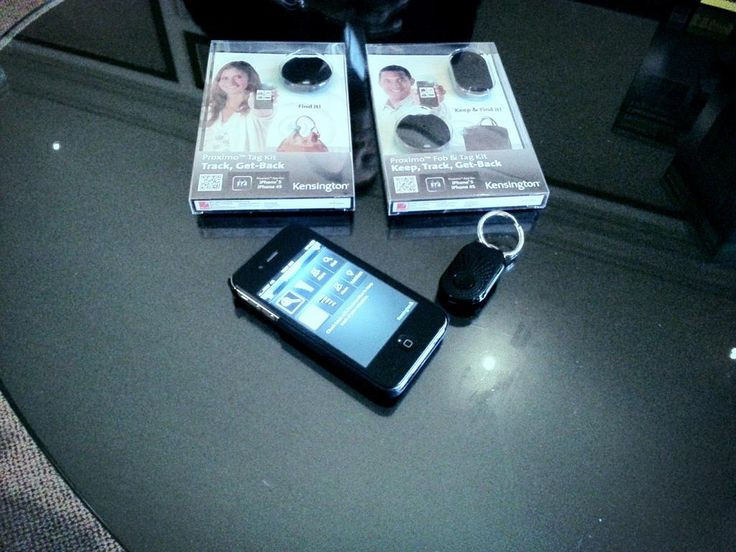 Kensington's Proximo device keeps track of your valuables. #2013ces