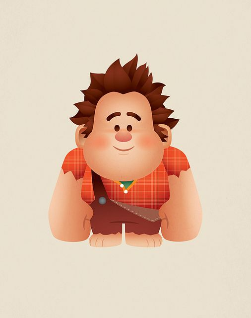 Kawaii Wreck-It Ralph by Jerrod Maruyama, via Flickr.