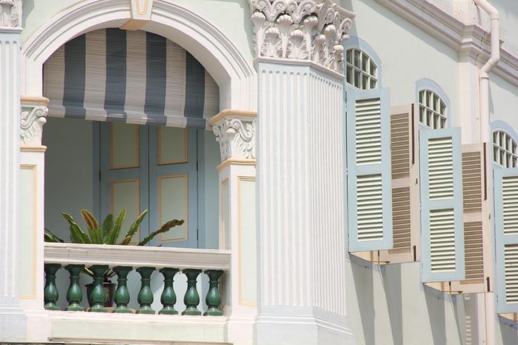 Peranakan Museum window Singapore