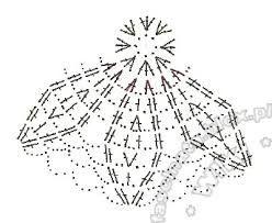 Výsledek obrázku pro szydełkowe dzwoneczki schematy