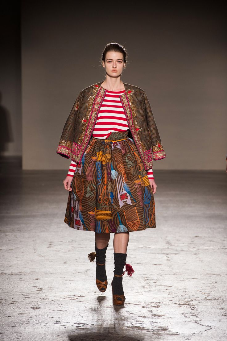 www.cewax aime la mode ethnique, tribale, afro tendance, hippie, boho chic... #StellaJean FW 2015-2016 | Look 15 at Milan Fashion Week with ITC Ethical Fashion Initiative and Camera Nazionale della Moda Italiana  #EthicalFashionInitiative #ChangeFashion #Metissage #FW15 #Himalaya