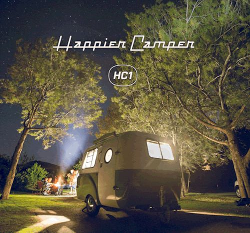 The Happier Camper is all about modern and vintage Ultra-Light Travel Trailers, lifestyle and...